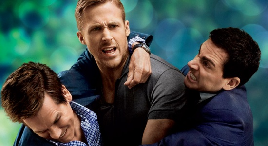 Kevin Bacon, Ryan Gosling y Steve Carrell