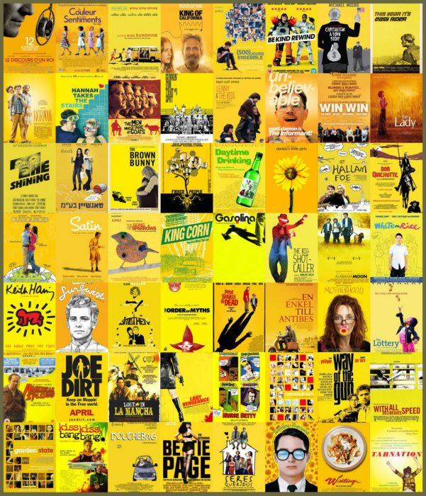 Carteles parecidos: amarillo
