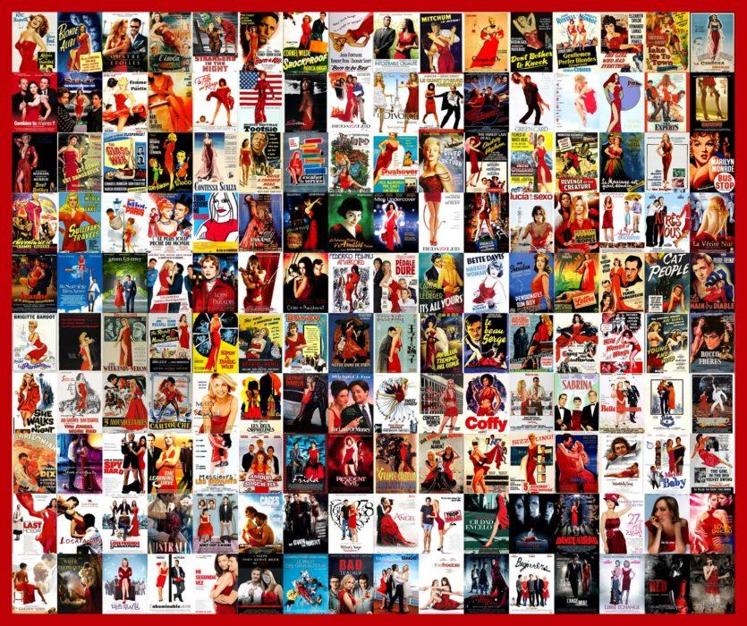Carteles parecidos: mujeres de rojo