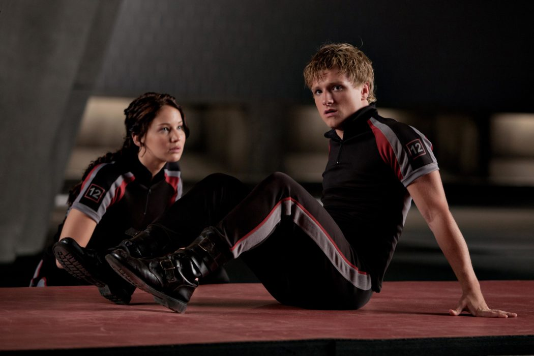 Jennifer Lawrence y Josh Hutcherson