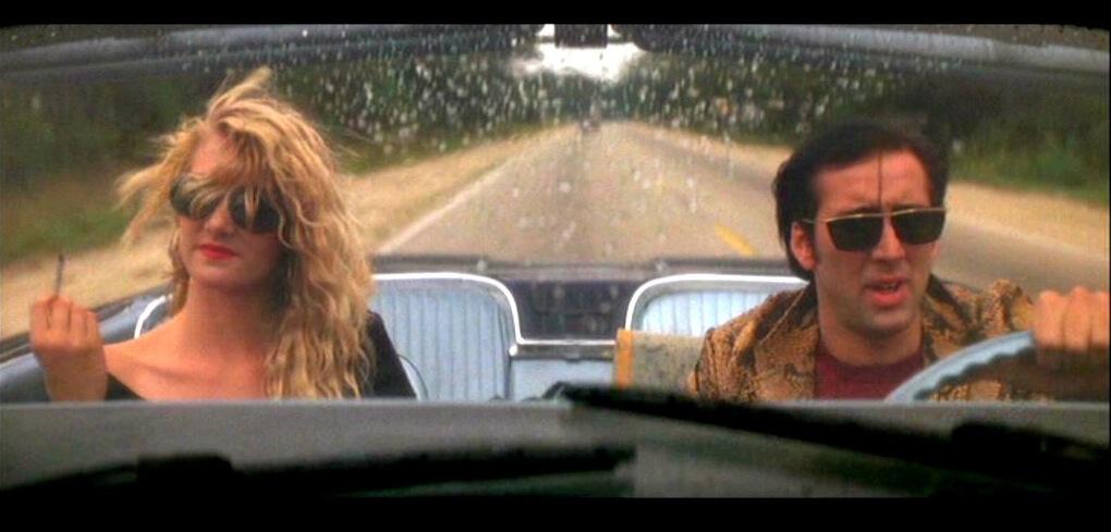 Laura Dern y Nicolas Cage