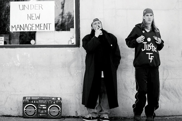 Kevin Smith y Jason Mewes