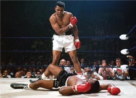 Muhammad Ali en un fotograma del documental Facing Ali