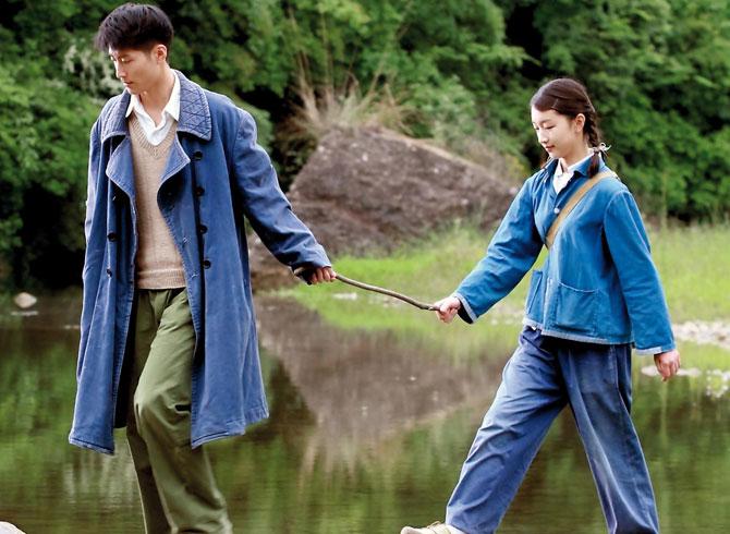 Zhou Dongyu y Shawn Dou