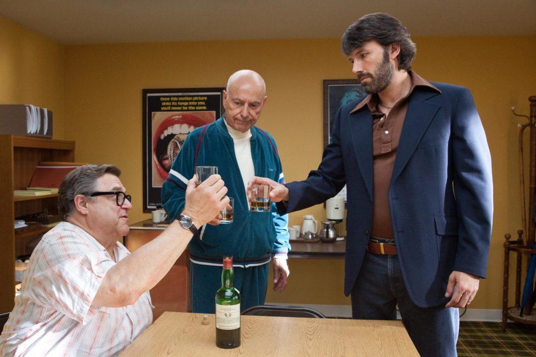Ben Affleck, John Goodman, Alan Arkin en Argo