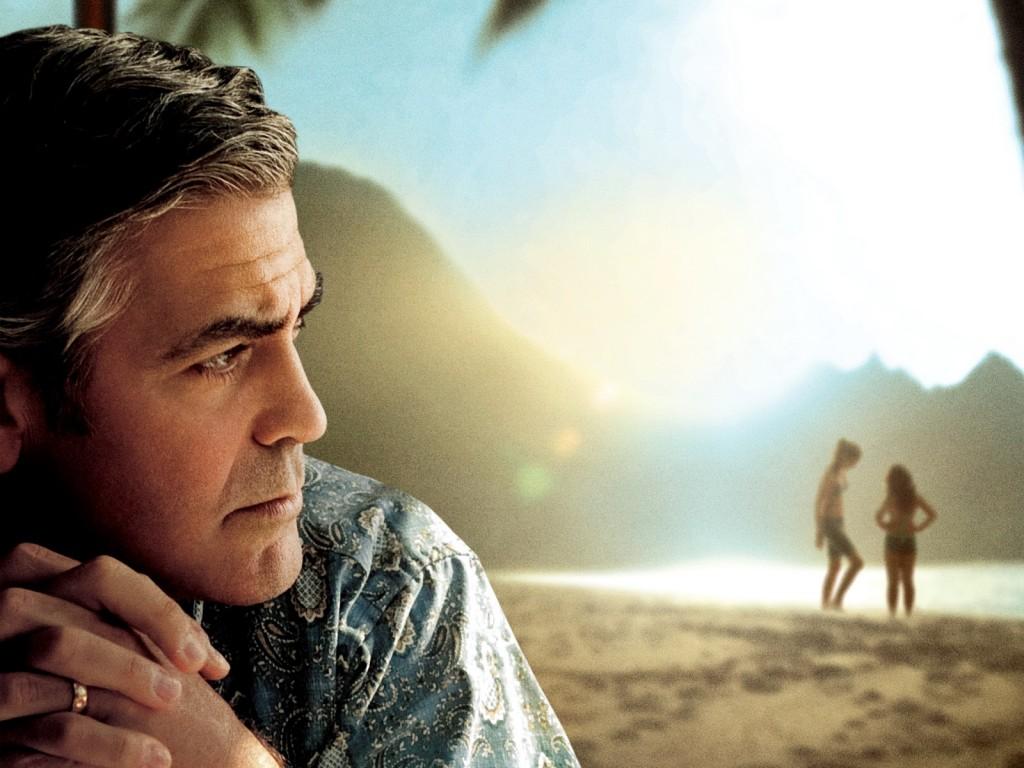 George Clooney en Los Descendientes