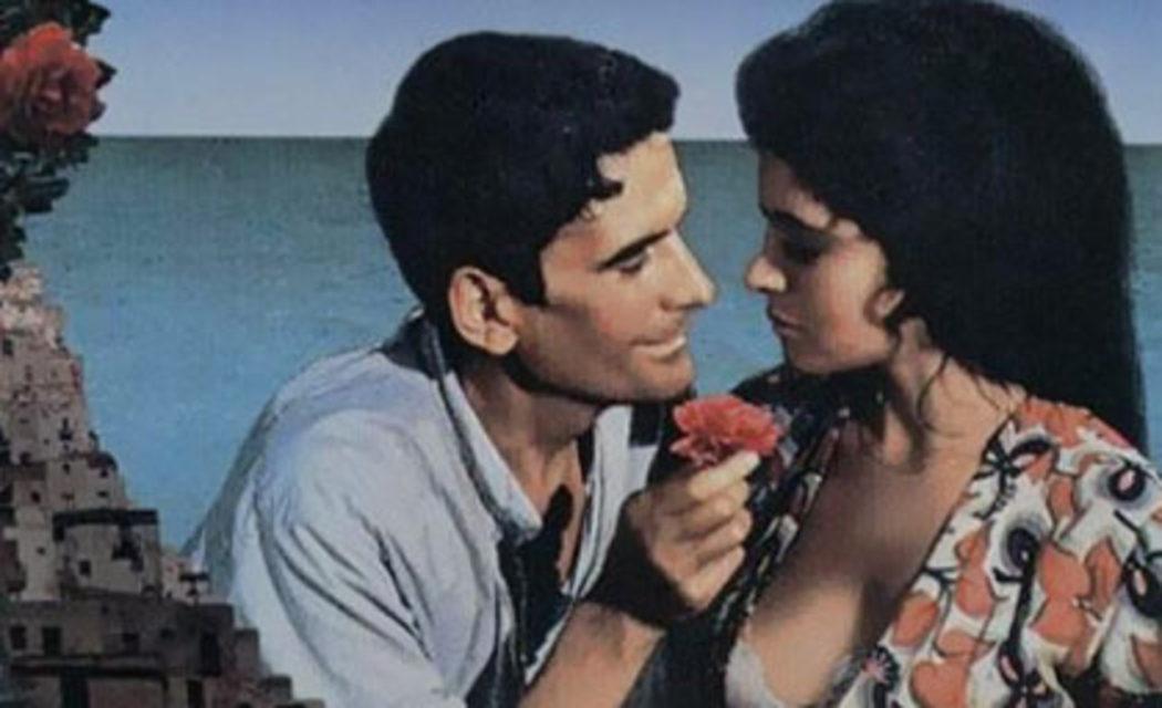Massimo Troisi y María Grazia Cucinotta en El cartero y Pablo Neruda