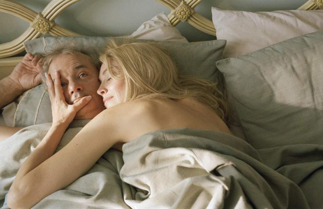 Bill Muray Y Sharon Stone en Flores Rotas