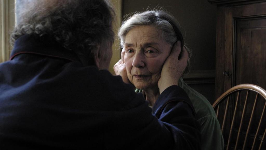 Emmanuelle Riva realiza una fantástica interpretación en Amour