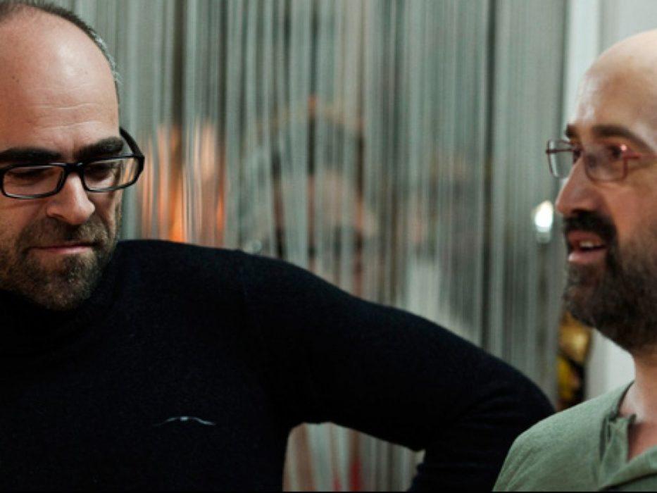 Luis Tosar y Javier Cámara en Con una pistola en cada mano