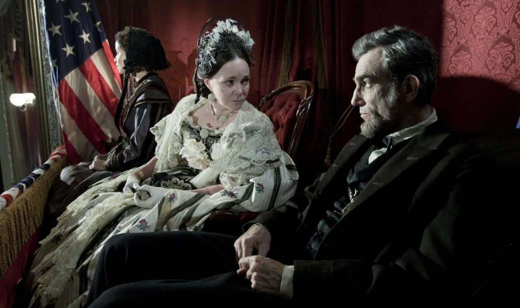 Daniel Day-Lewis y Sally Field en Lincoln