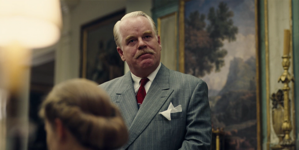 Philip Seymour Hoffman en The Master