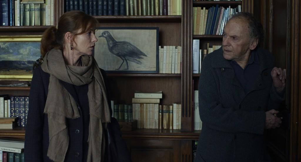 Jean-Louis Trintignant e Isabelle Huppert