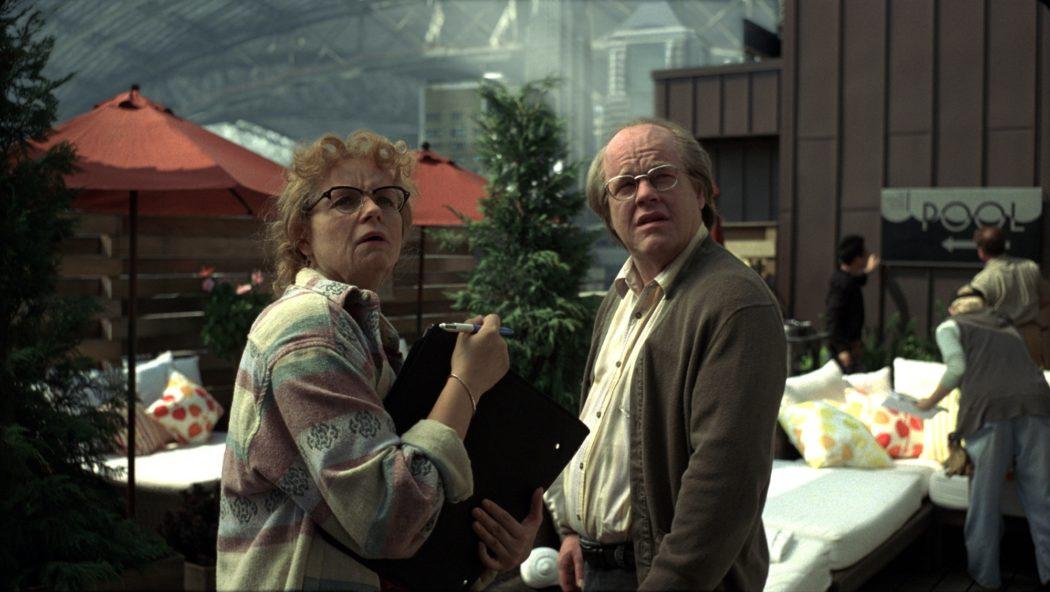 Philip Seymour Hoffman y Samantha Morton