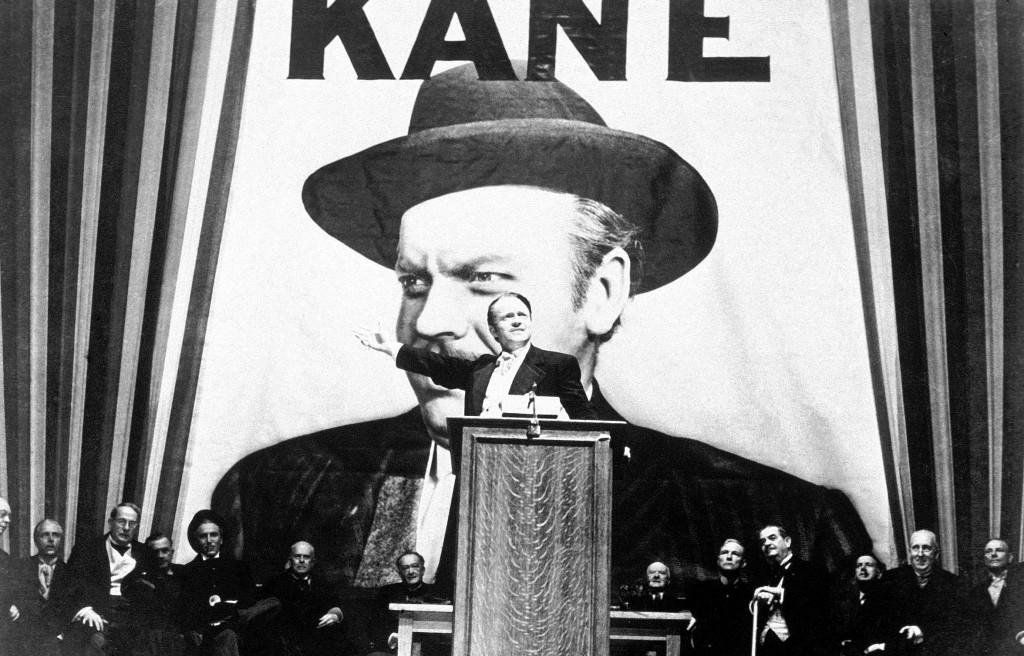 Orson Welles en Ciudadano Kane