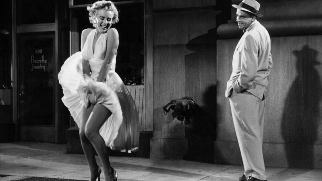 Marilyn Moroe en La tentación vive arriba