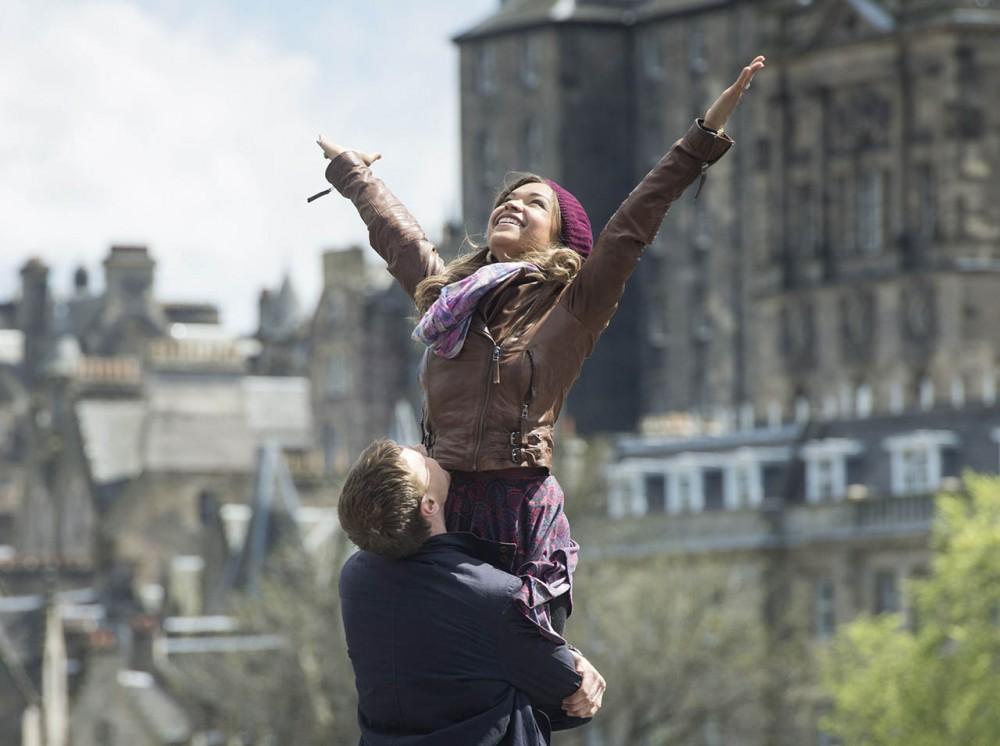 Amanece en Edimburgo