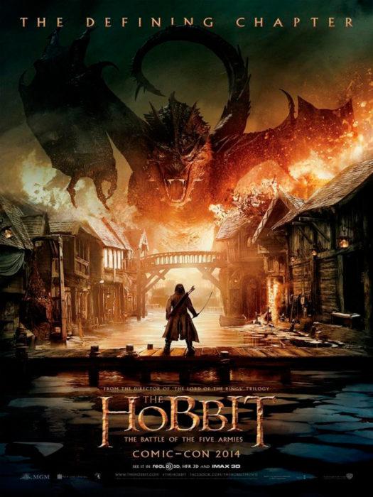 Primer poster El hobbit: La batalla de los cinco ejércitos
