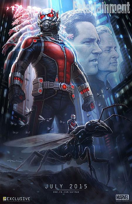 Primer poster de ant-man