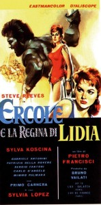 Hercules y la reina de Lidia