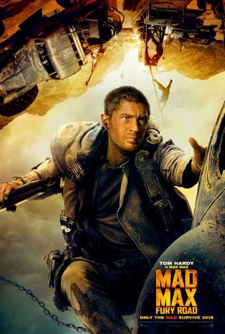 Tom Hardy en Mad Max Fury Road