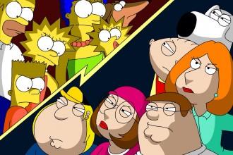 Los Simpsons y Padre de familia