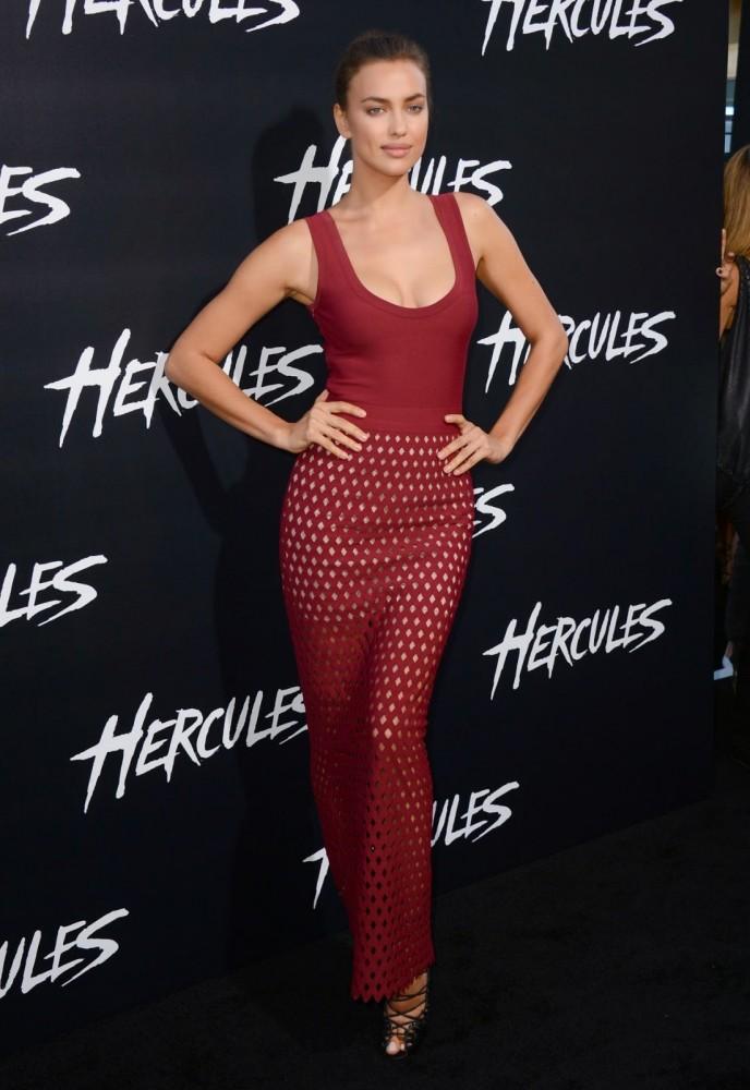 Premiere Hercules: Irina Shayk