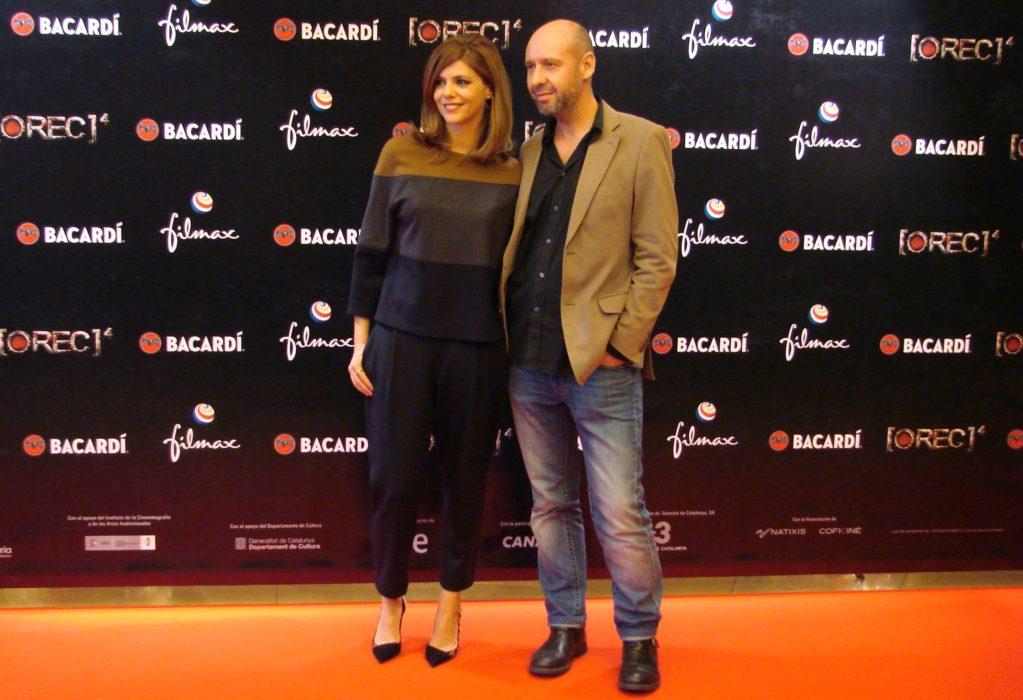 Manuela Velasco y Jaume Balaguero