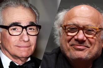 Martin Scorsese y Danny de Vito