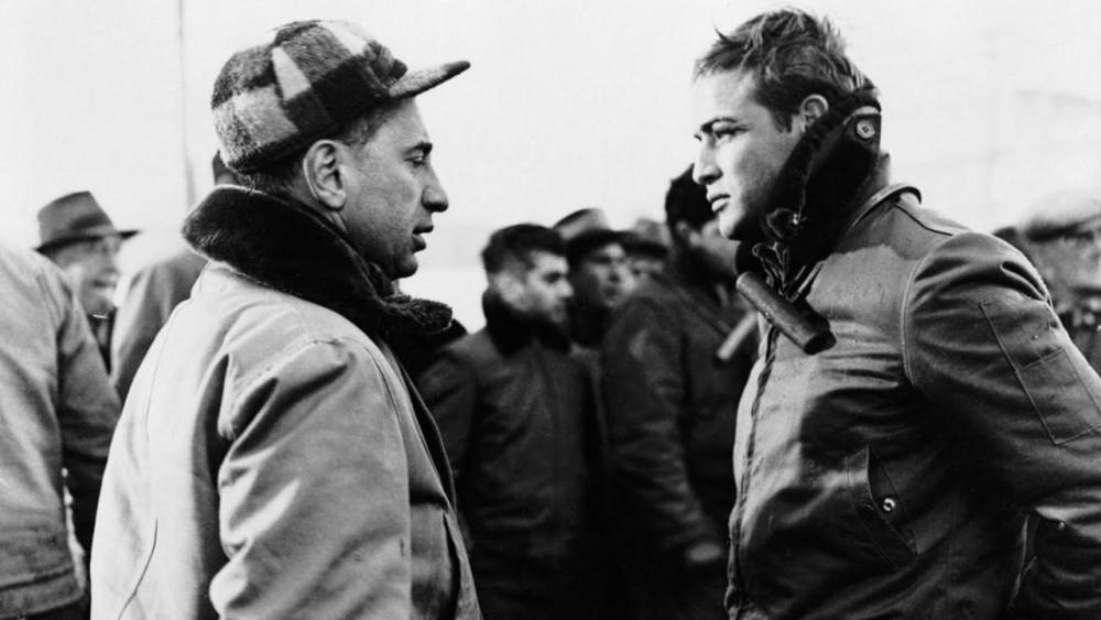 Elia Kazan y Marlon Brando