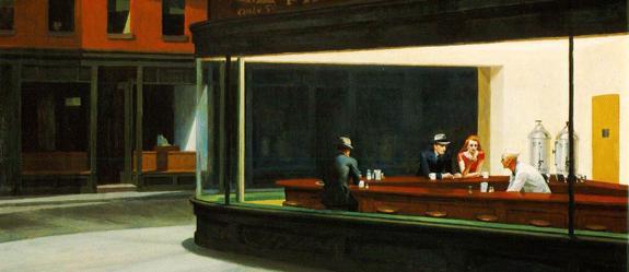 Nighthwks de Edward Hopper