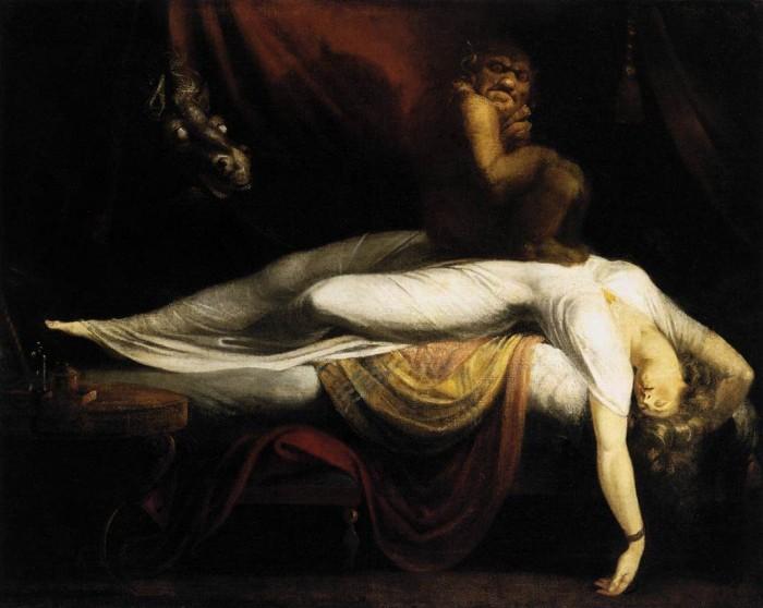 La pesadilla, de Johann Heinrich Fussli