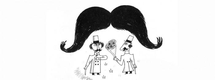 Un bigote para dos