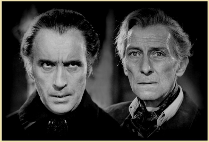 Christopher Lee contra Peter Cushing