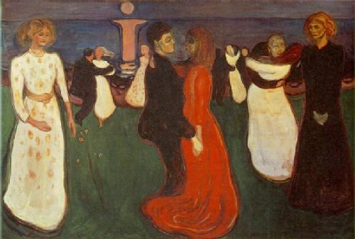 La danza de la vida de Edvard Munch