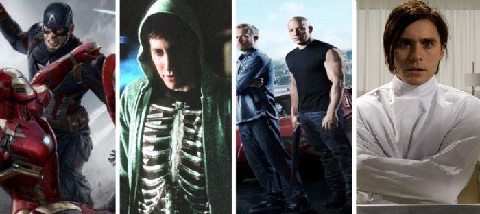 Civil War, Donnie Darko, Fast & Furious, Mr. Nobody