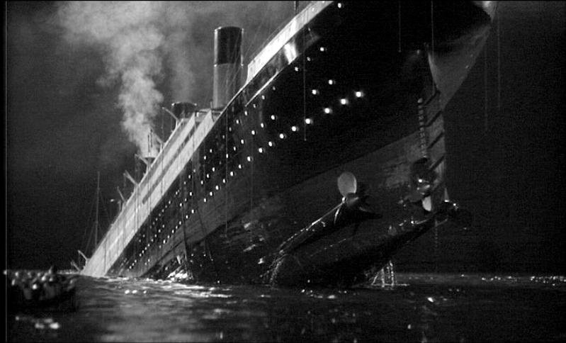 Disaster Films: The Last Night of the Titanic (1958)