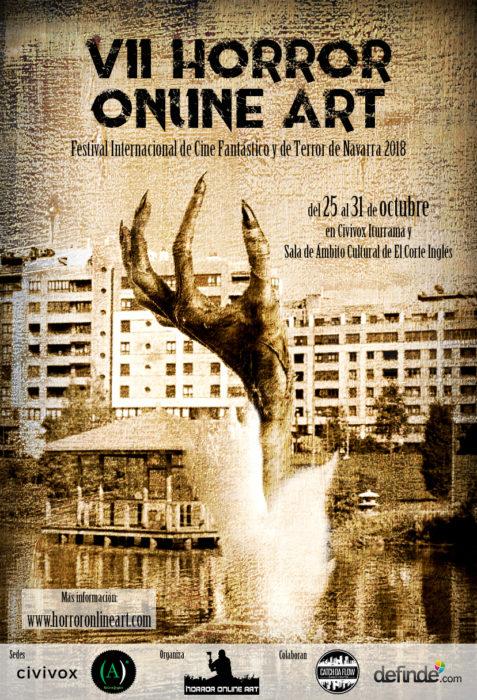 VII edición del Festival Internacional de Cine Fantástico y de Terror de Navarra Horror Online Art