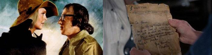 Sueños de un seductor (1972) y Regreso al futuro II (1989)