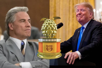 Razzies 2019: Trump y Travolta
