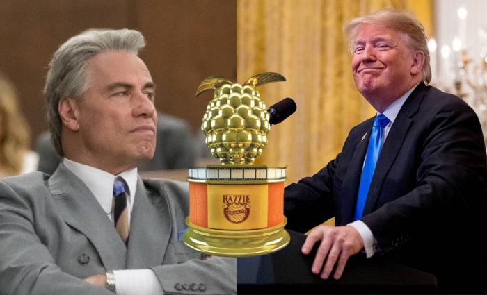 Razzies 2019: Trump y Travolta